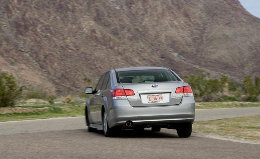 2010 Honda Accord EX, 2010 Subaru Legacy 2.5i, and 2011 Hyundai Sonata SE - Slide 43