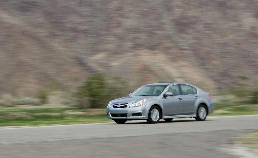 2010 Honda Accord EX, 2010 Subaru Legacy 2.5i, and 2011 Hyundai Sonata SE - Slide 44