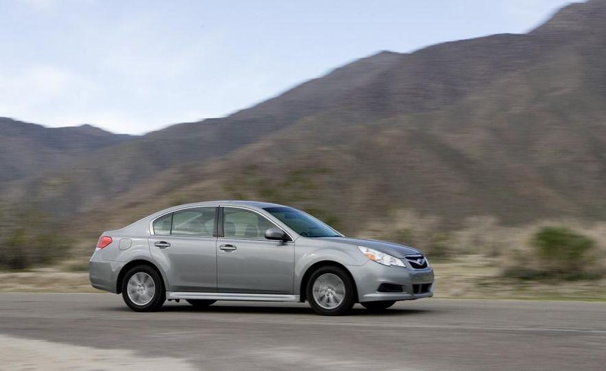 2010 Honda Accord EX, 2010 Subaru Legacy 2.5i, and 2011 Hyundai Sonata SE - Slide 46
