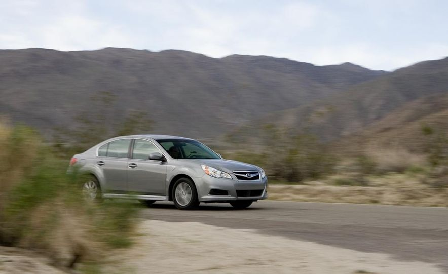 2010 Honda Accord EX, 2010 Subaru Legacy 2.5i, and 2011 Hyundai Sonata SE - Slide 47