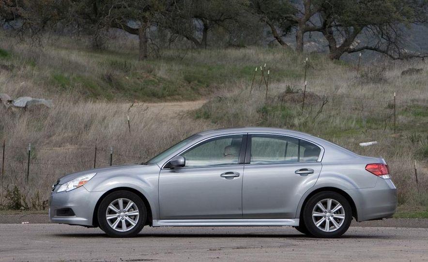 2010 Honda Accord EX, 2010 Subaru Legacy 2.5i, and 2011 Hyundai Sonata SE - Slide 48