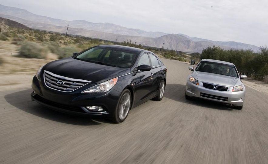2010 Honda Accord EX, 2010 Subaru Legacy 2.5i, and 2011 Hyundai Sonata SE - Slide 4