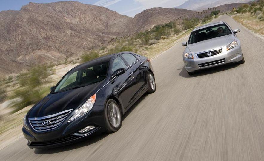 2010 Honda Accord EX, 2010 Subaru Legacy 2.5i, and 2011 Hyundai Sonata SE - Slide 5
