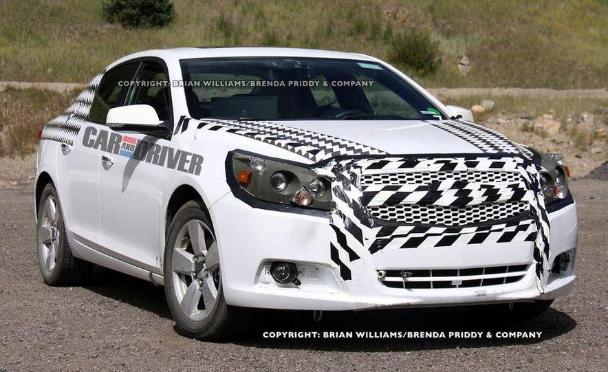 2012 Chevrolet Malibu (spy photo) - Slide 1