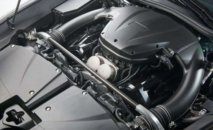 2012 Lexus LFA - Slide 40