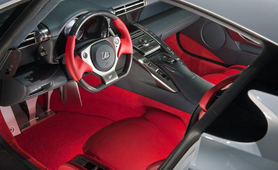 2012 Lexus LFA - Slide 34