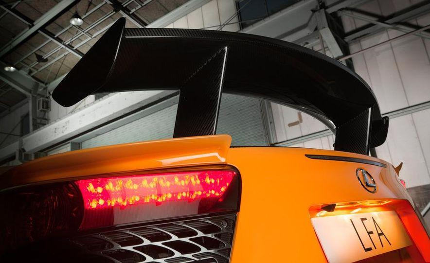2012 Lexus LFA Nürburgring Package - Slide 51