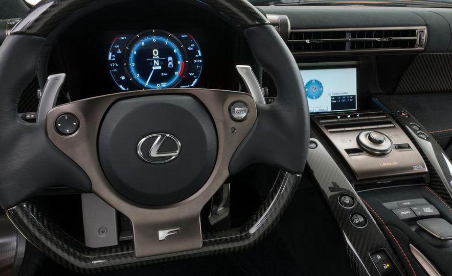 2012 Lexus LFA Nürburgring Package - Slide 52