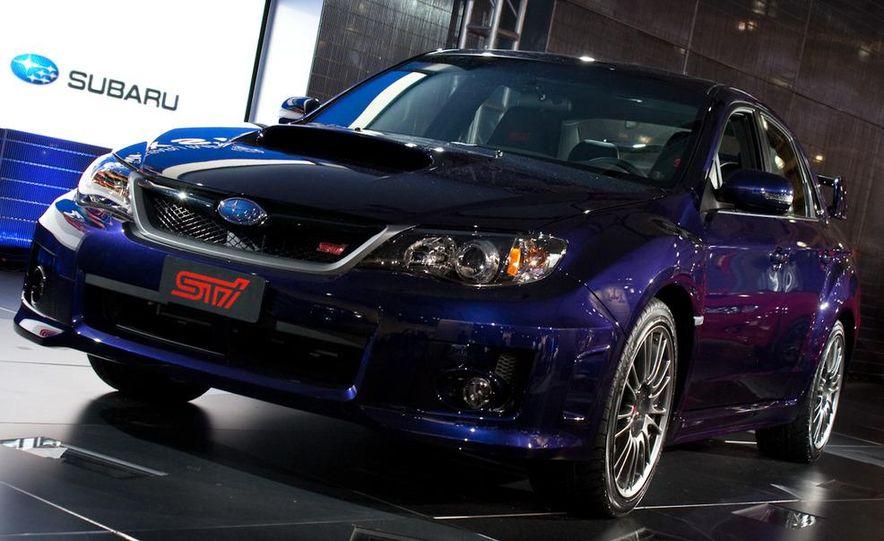 2011 Subaru Impreza WRX STI sedan - Slide 1