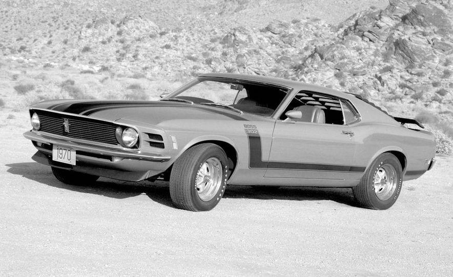 1969 Ford Mustang Boss 302 - Slide 4