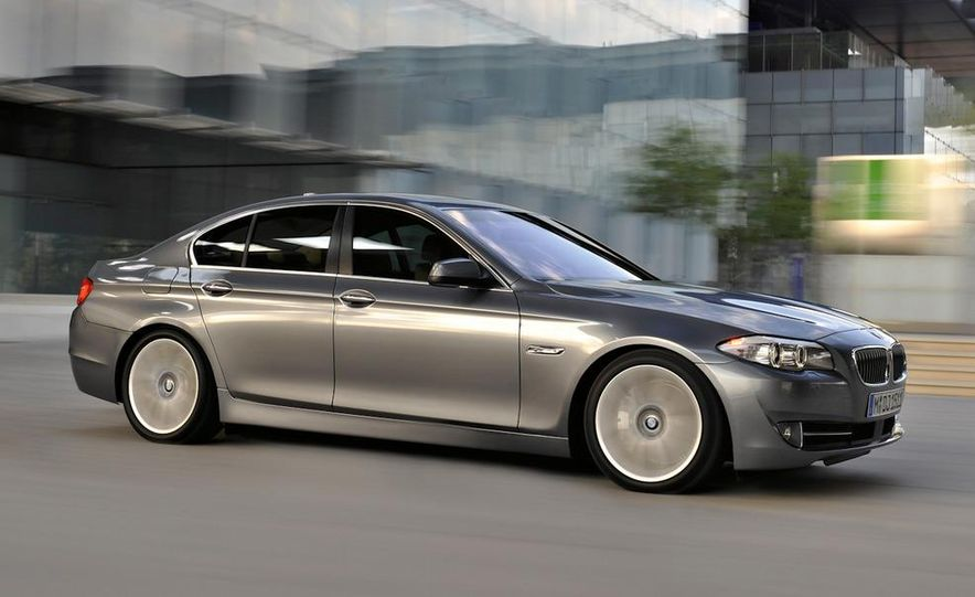 2011 BMW M5 (artist's rendering) - Slide 5
