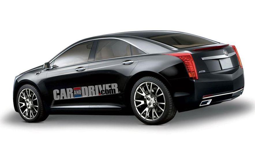 2012 Cadillac ATS (artist's rendering) - Slide 1