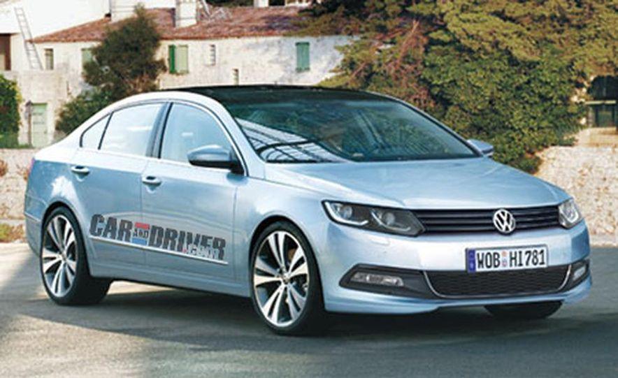 2012 Volkswagen New Mid-Size Sedan - Slide 1