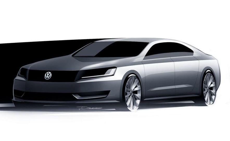 2012 Volkswagen New Mid-Size Sedan - Slide 4