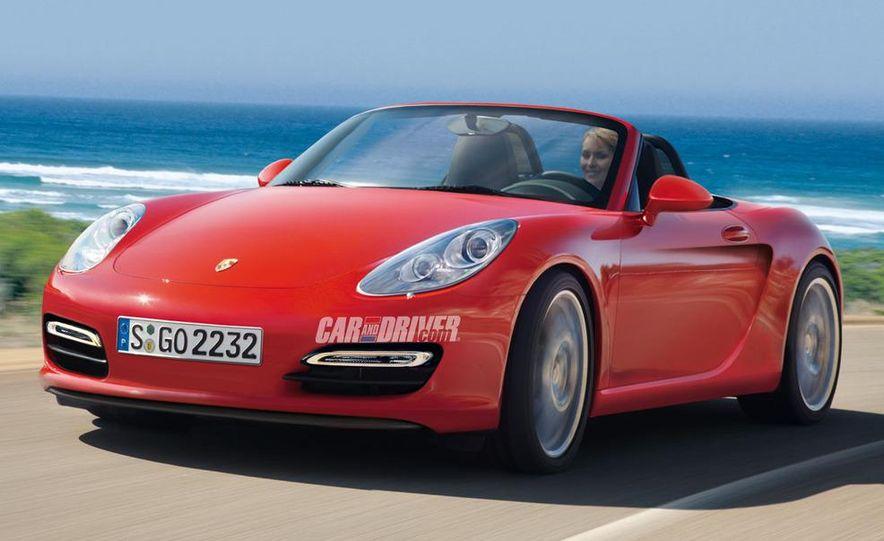 "2014 Porsche ""Baby Boxster"" (artist's rendering) - Slide 1"