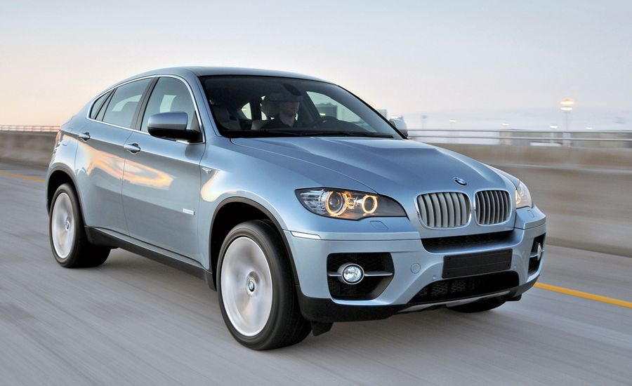 2010 bmw activehybrid x6 instrumented test car and driver. Black Bedroom Furniture Sets. Home Design Ideas