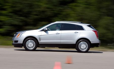 suv cars and three motor front cadillac trend rating reviews quarter srx