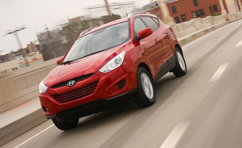 2010 Hyundai Tucson GLS FWD Manual