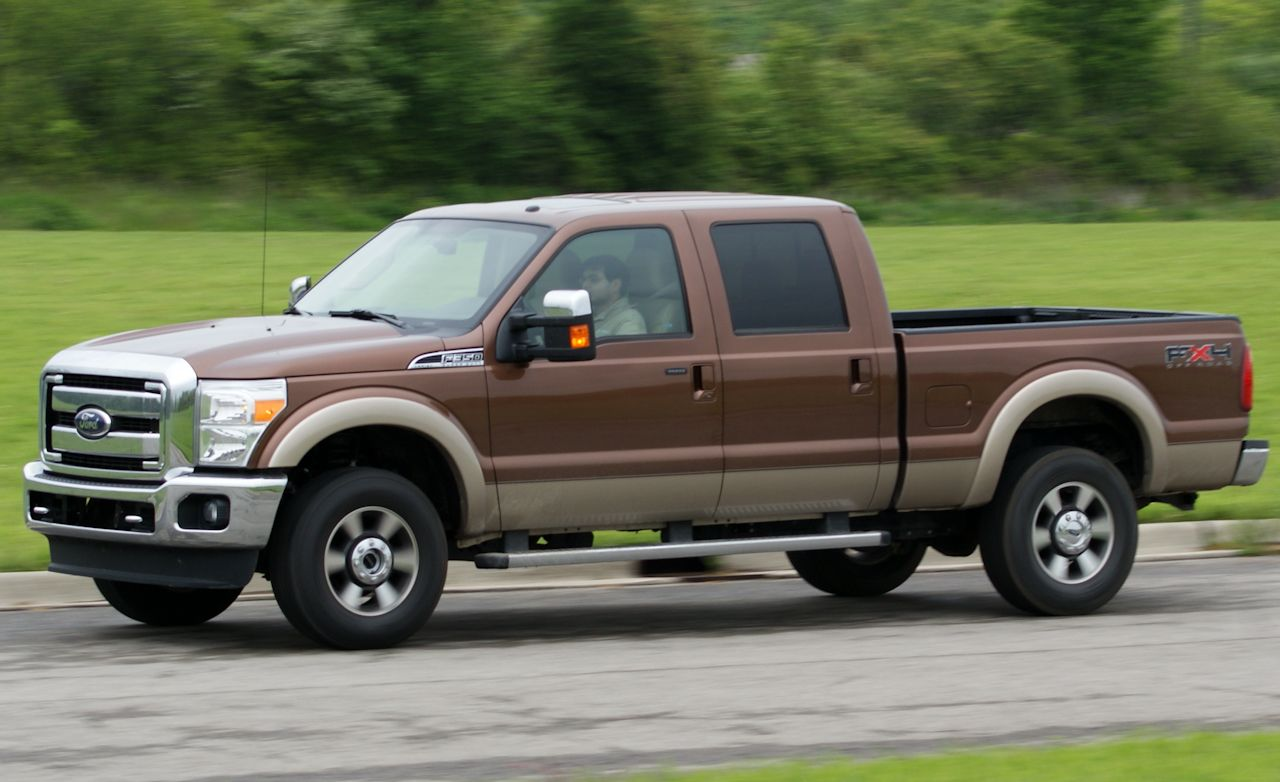 2011 ford f 350 super duty lariat 4x4 crew cab short take road test reviews car and driver