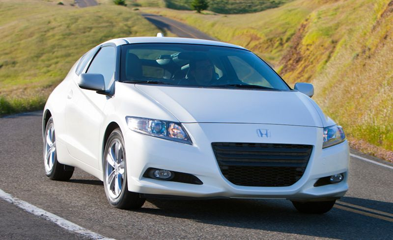 2011 Honda Cr Z Hybrid Review Car And Driver
