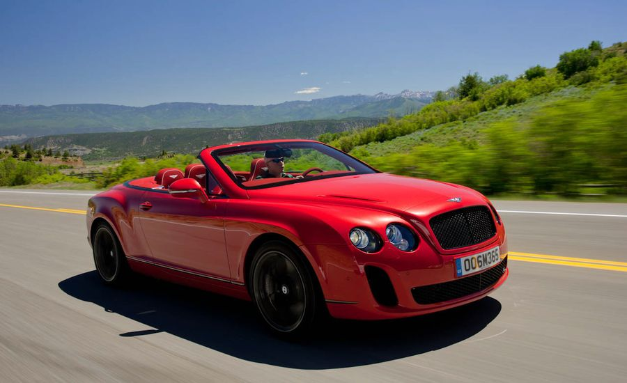 Bentley Continental Review 2011 Bentley Supersports Convertible
