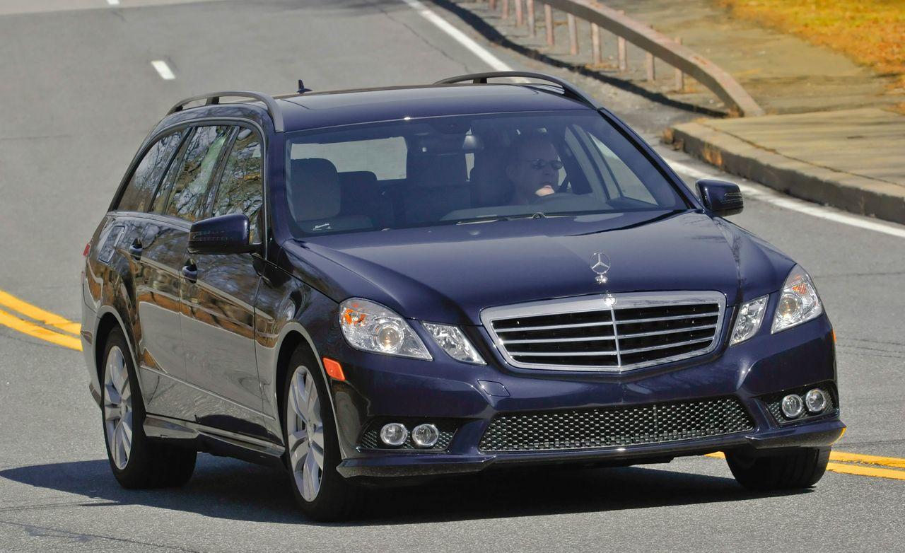 Mercedes benz e class review 2011 mercedes e350 wagon test car and driver