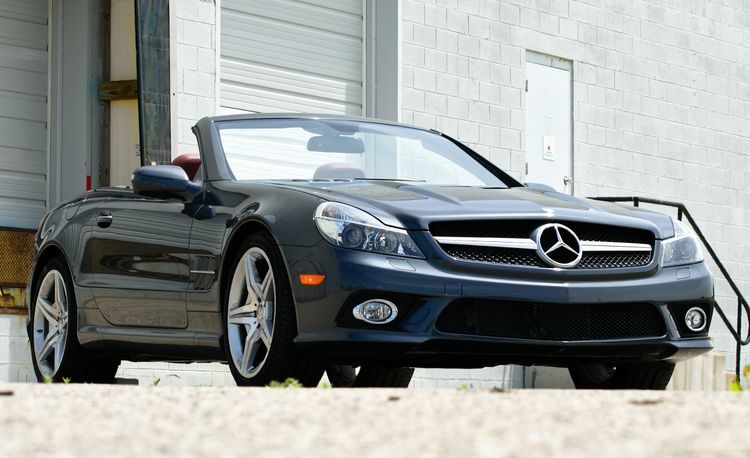 2011 Mercedes-Benz SL550