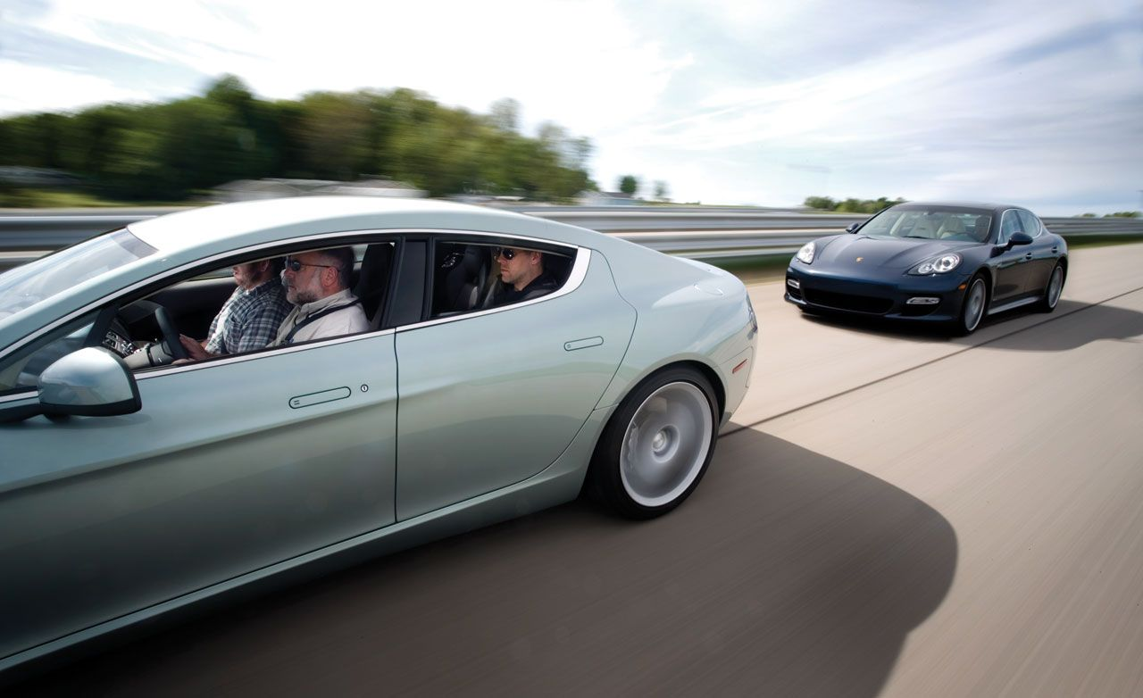 2010 Aston Martin Rapide Review Car And Driver