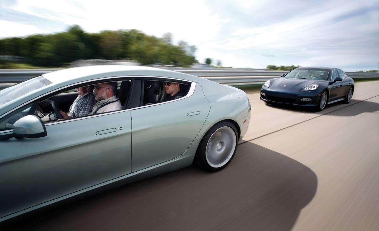2010 Aston Martin Rapide vs. 2010 Porsche Panamera Turbo