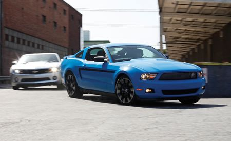 2011 Ford Mustang V6 vs. 2010 Chevrolet Camaro RS