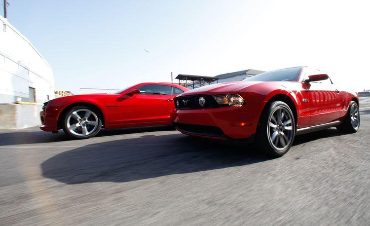 2011 Ford Mustangs vs. 2010 Chevrolet Camaros