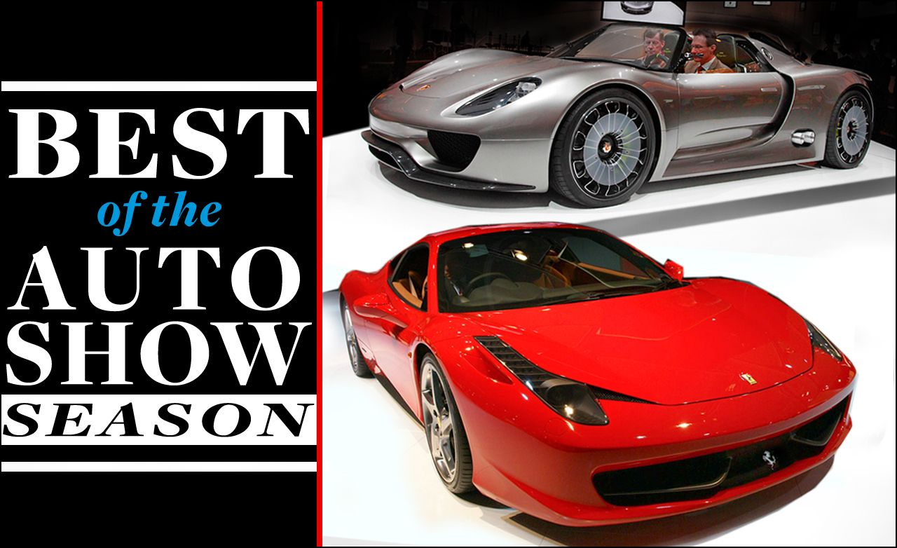 Best of the 2009 / 2010 Auto Show Season