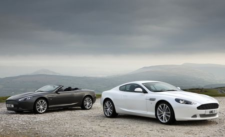 2011 Aston Martin DB9 Coupe and DB9 Volante