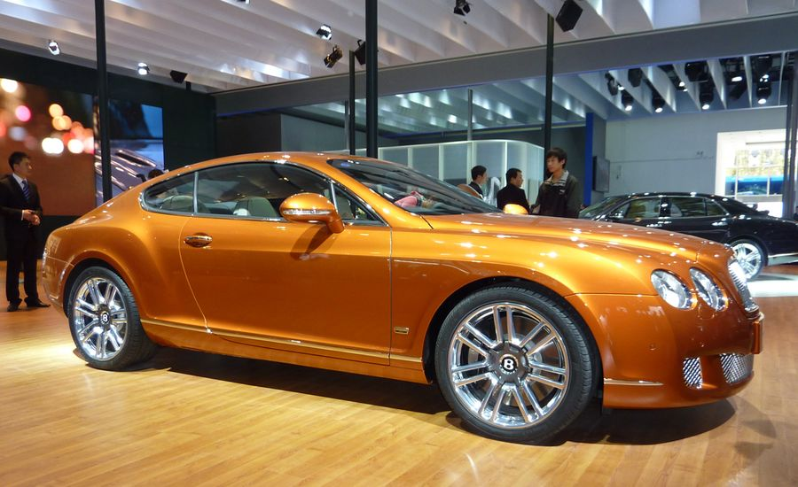 2011 Bentley Continental Gt Design Series China And 2011 Continental