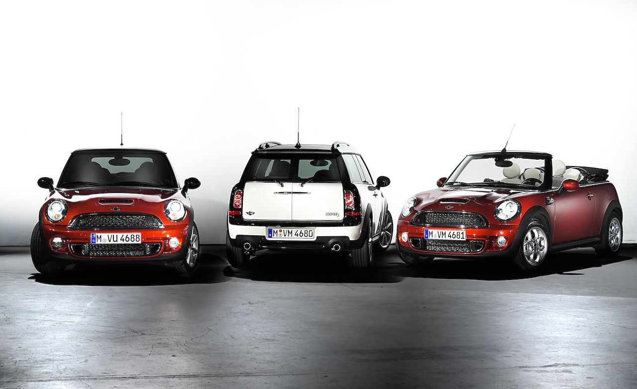 2011 Mini Cooper and Clubman Get Visual, Equipment Updates