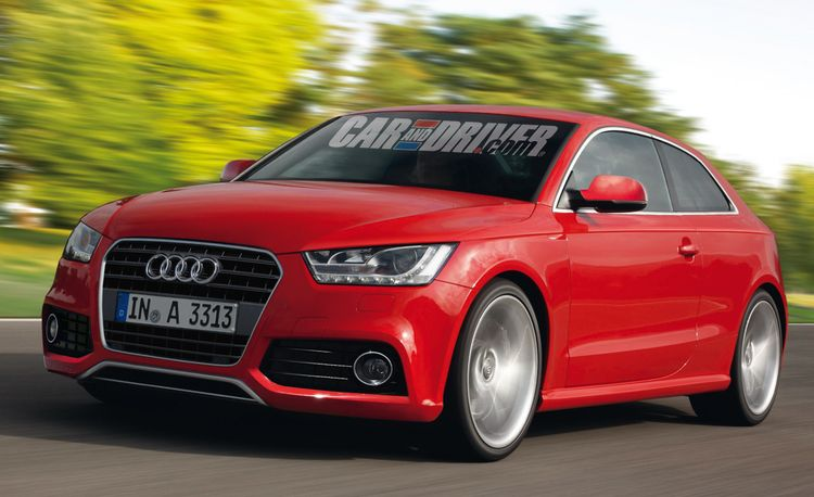 2012 Audi A3 Rendered