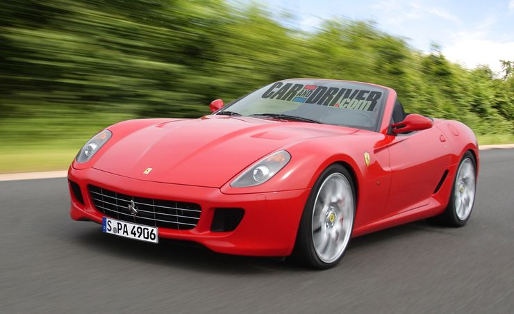 2012 Ferrari 599 Roadster Rendered