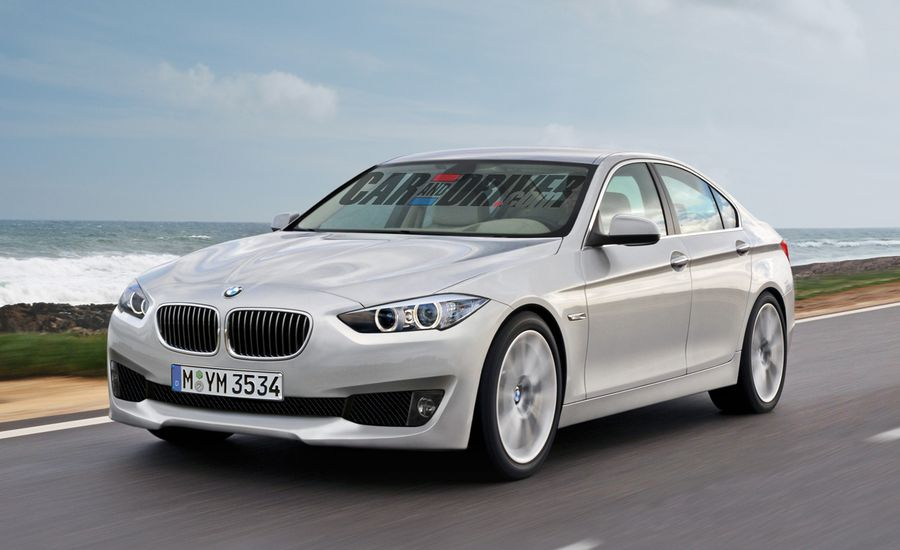 2013 BMW 3-series Rendered