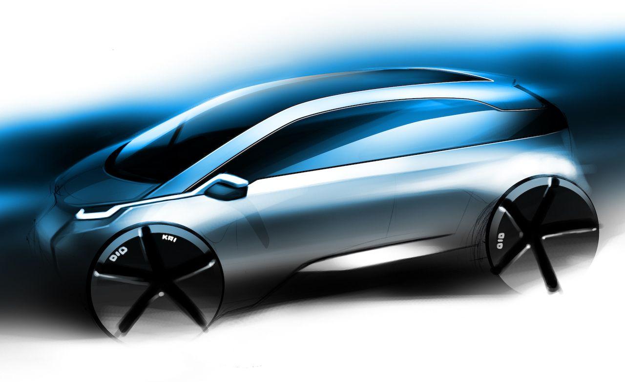 2013 BMW Megacity Vehicle