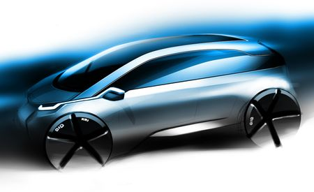 2013 BMW Megacity Vehicle