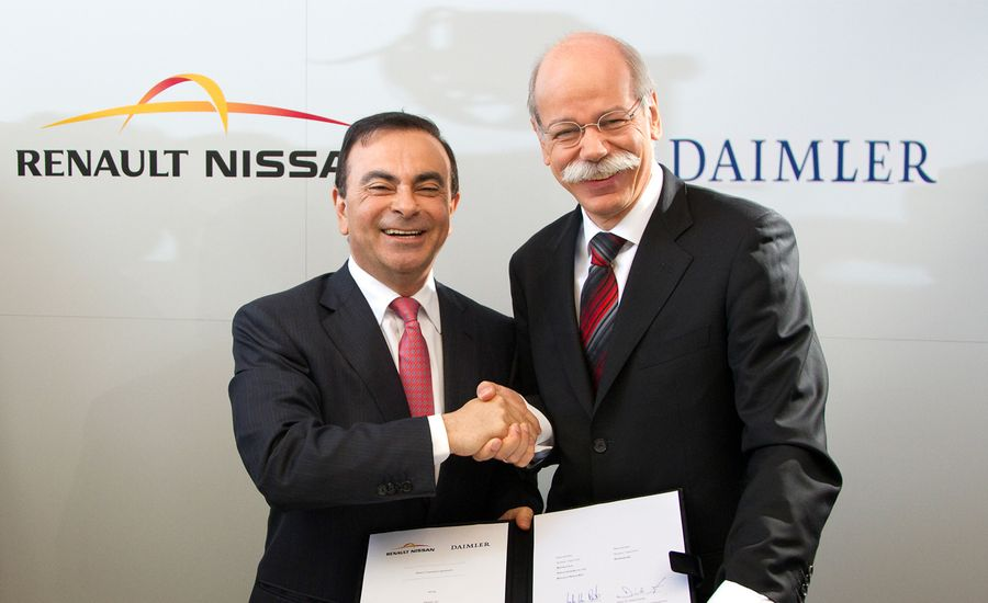 Daimler and Renault-Nissan Announce Global Partnership