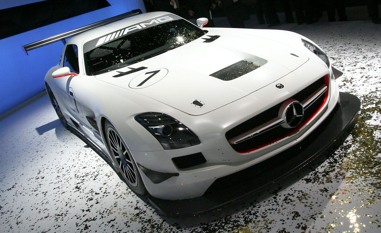 mercedes benz sls amg gt3. Black Bedroom Furniture Sets. Home Design Ideas