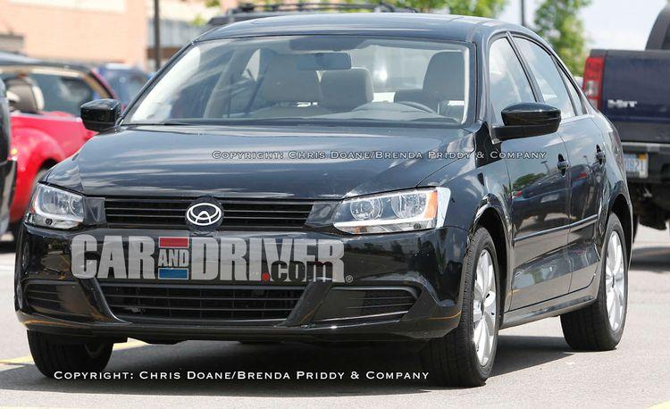 2011 Volkswagen Jetta Nearly Undisguised