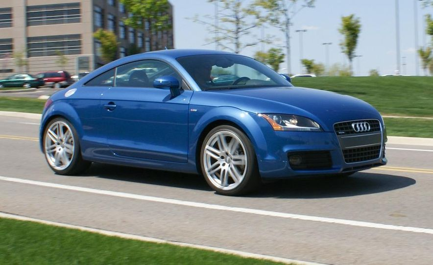 2011 Audi TT coupe (European spec) - Slide 69
