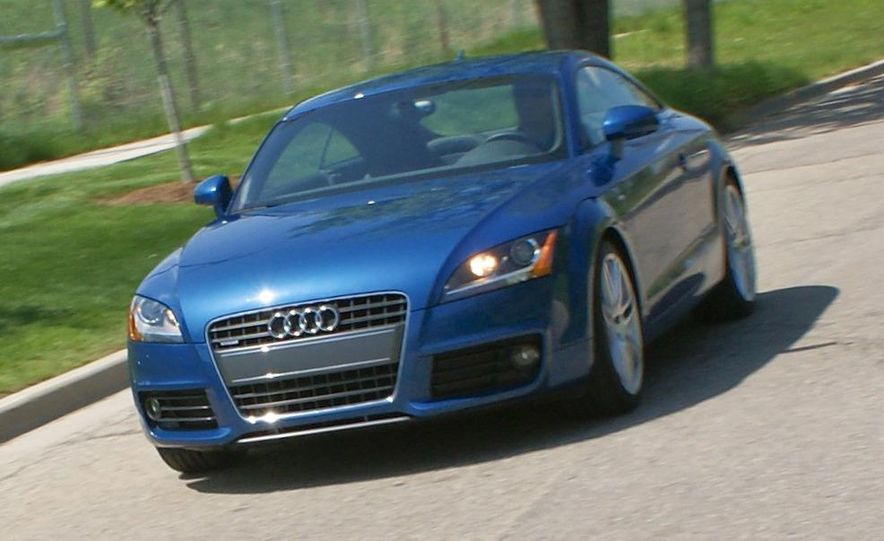 2011 Audi TT coupe (European spec) - Slide 71