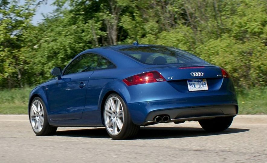 2011 Audi TT coupe (European spec) - Slide 72
