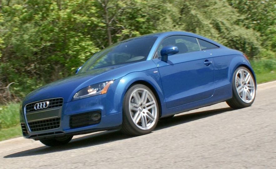 2011 Audi TT coupe (European spec) - Slide 73