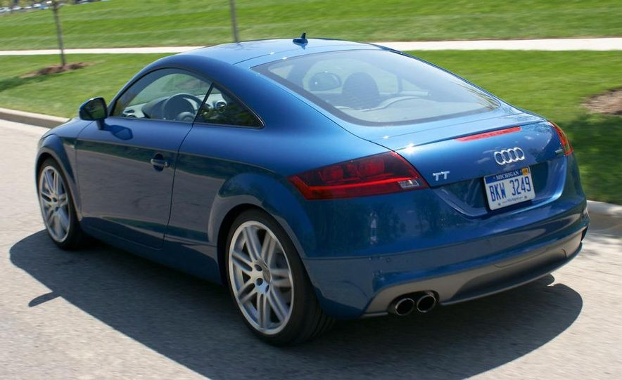 2011 Audi TT coupe (European spec) - Slide 74