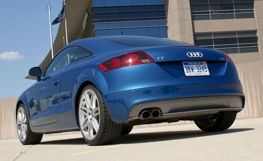2011 Audi TT coupe (European spec) - Slide 76