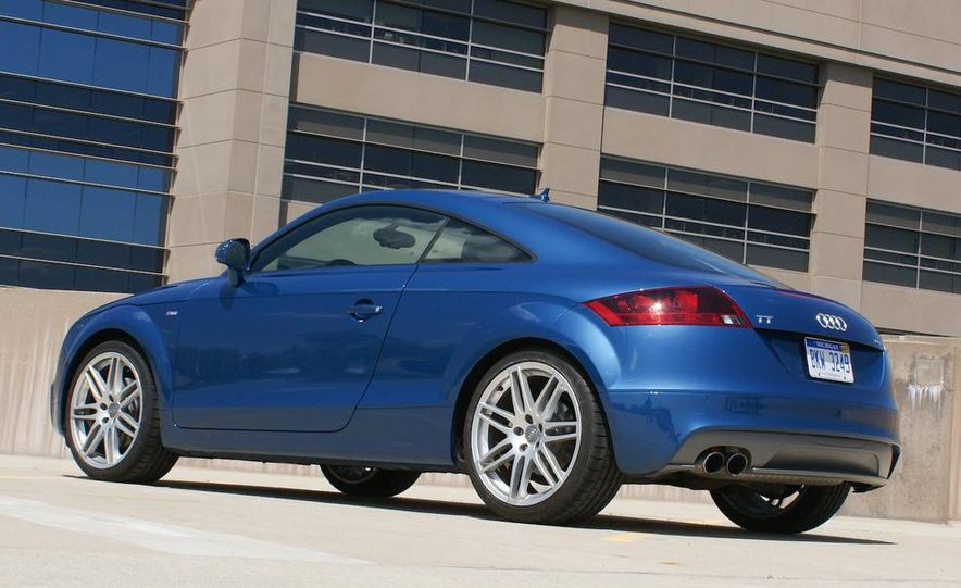 2011 Audi TT coupe (European spec) - Slide 78